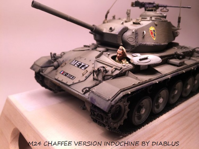 M24 Chaffee light tank, AFV Club 1/35 329243IMG35961