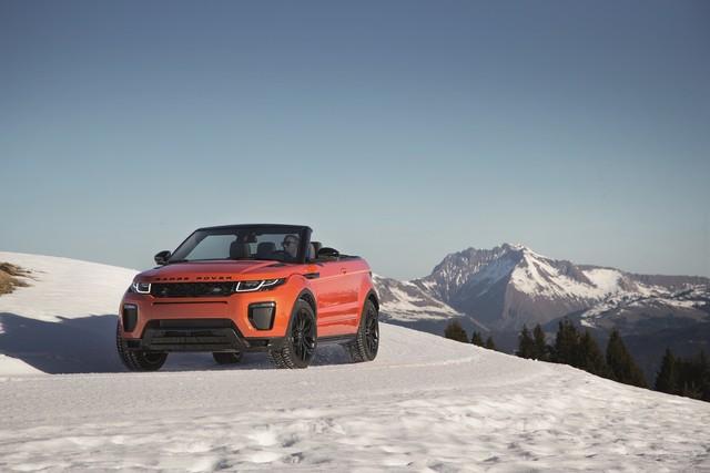 Range Rover Cabriolet, Un SUV Pour Toutes Les Saisons 330533RREVQConvertibleDrivingSnow09111506