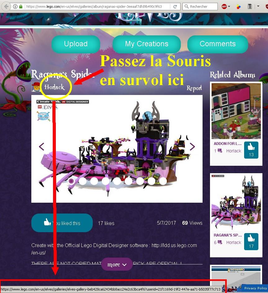 TUTORIEL : PARTAGER DES CREATIONS CHEZ LEGO 330639Sanstitre133