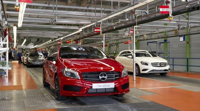 Mercedes Benz : Entrée en production de la Classe A 331642mercedesbenzaclassproduction
