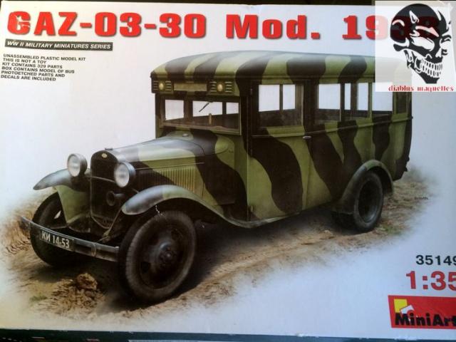 GAZ 03-30 MOD 42 - Miniart 1/35 336457gazautocar002