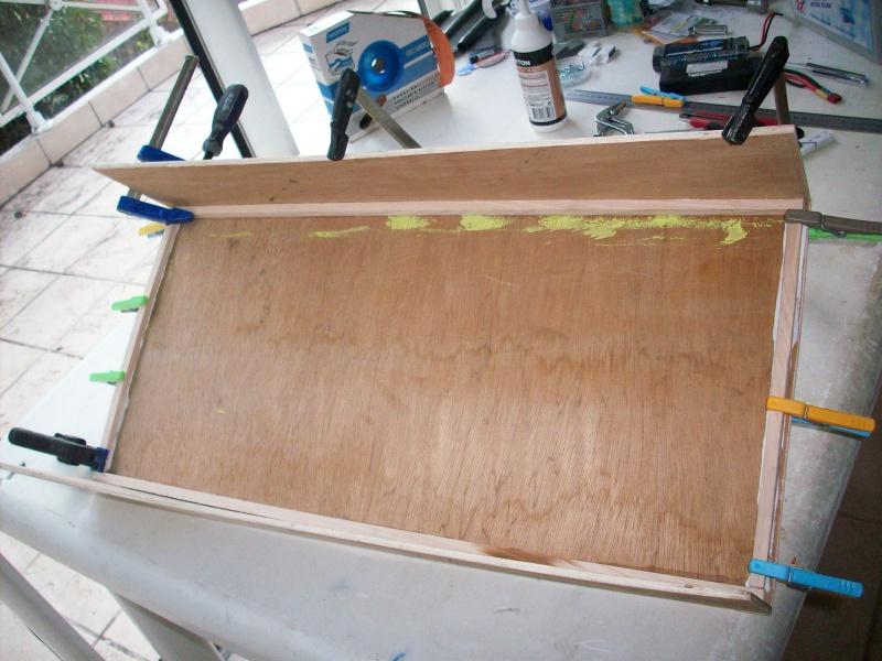 fabrication d'une caisse de transport pour le scania 3368111008900