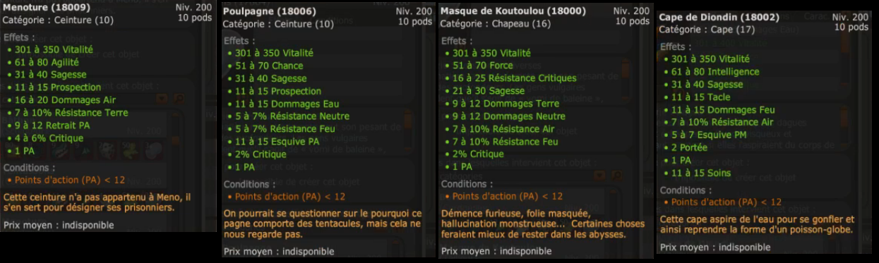 Items et modifs classes MàJ 2.35 337510MAJ235itemspa
