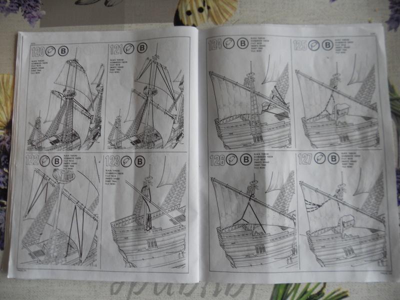 Pilgrim Ship MAYFLOWER Kit Revell au 1:83° 338249DSCN9553