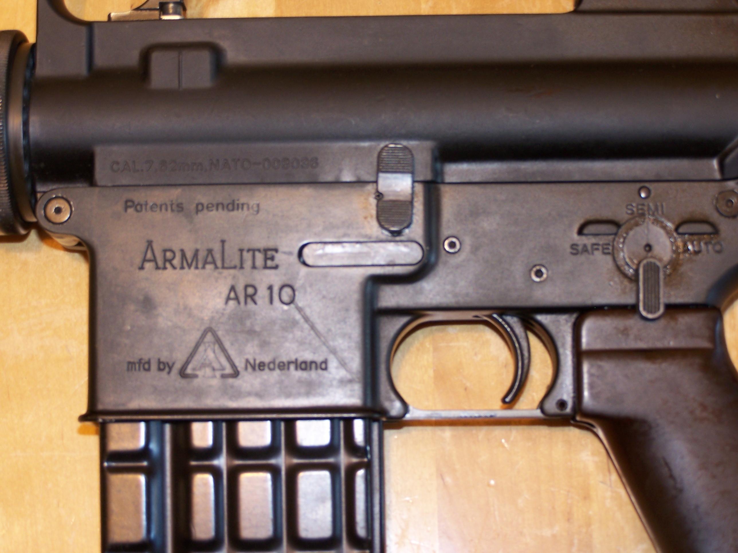AR-10 Armalite 308w le vraiiiii  3384831004521