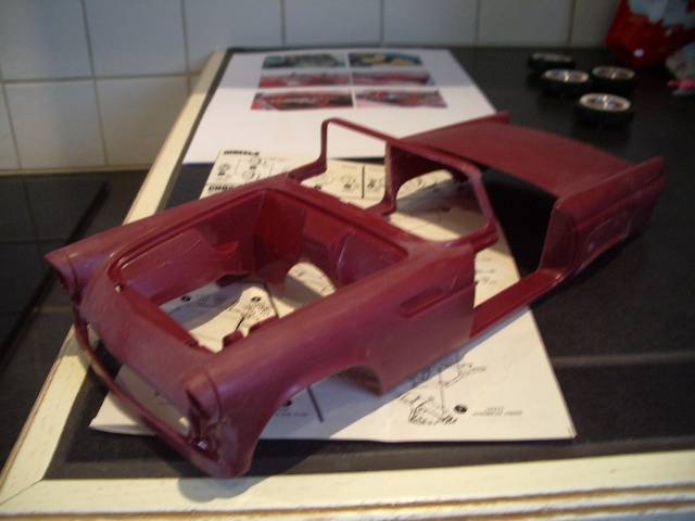 ford thunderbird 1955 au 1/16 de chez amt  3393148006