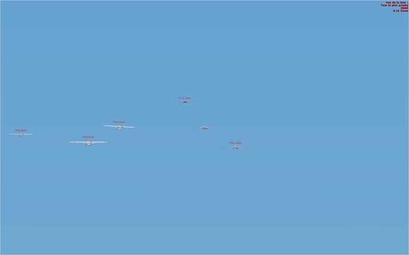 Vol en formation en Afrique (DC3) 3394122013222224957187