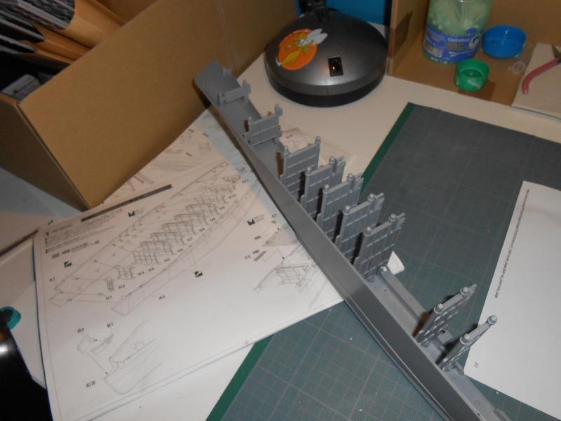 NAGATO 1/350 avec PE, Ponts en bois et babiolles  Hasegawa 340186DSCN6371