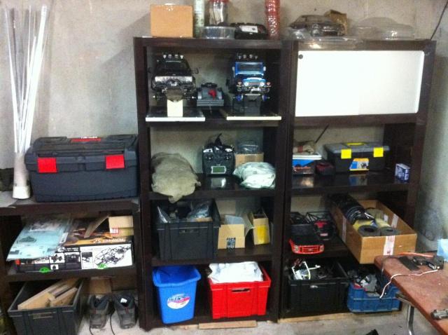 Mon garage pour 1/10 et 1/1 3406949912
