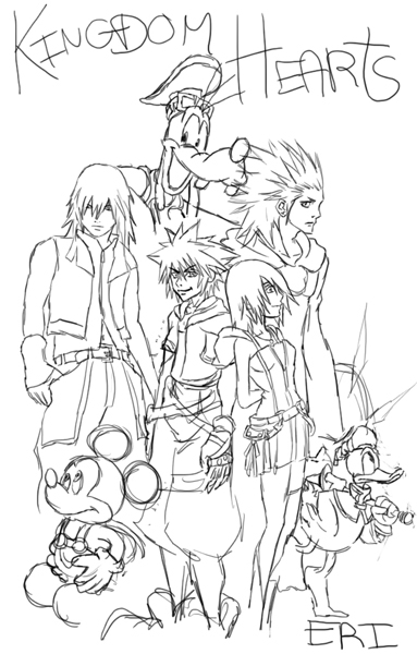 Kingdom Hearts les mondes perdus  340951Artwork
