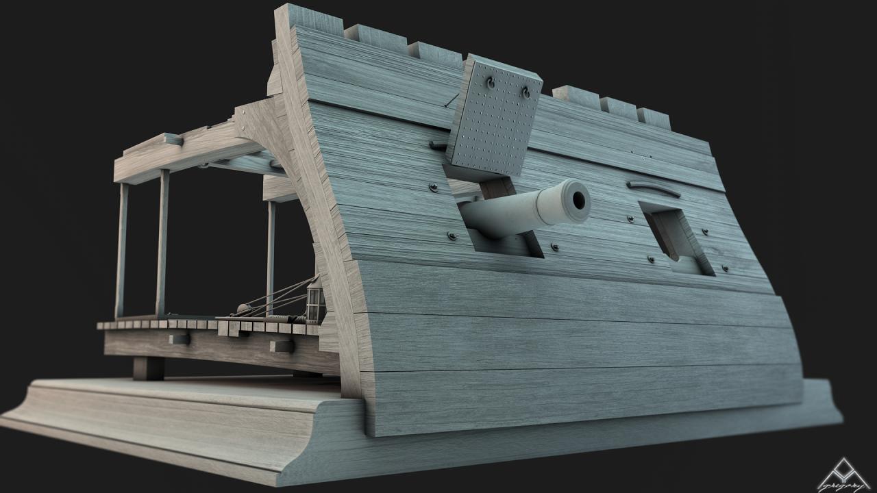 Etapes de construction 3D d'un navire de 74 canons. - Page 12 341718coupenavire1
