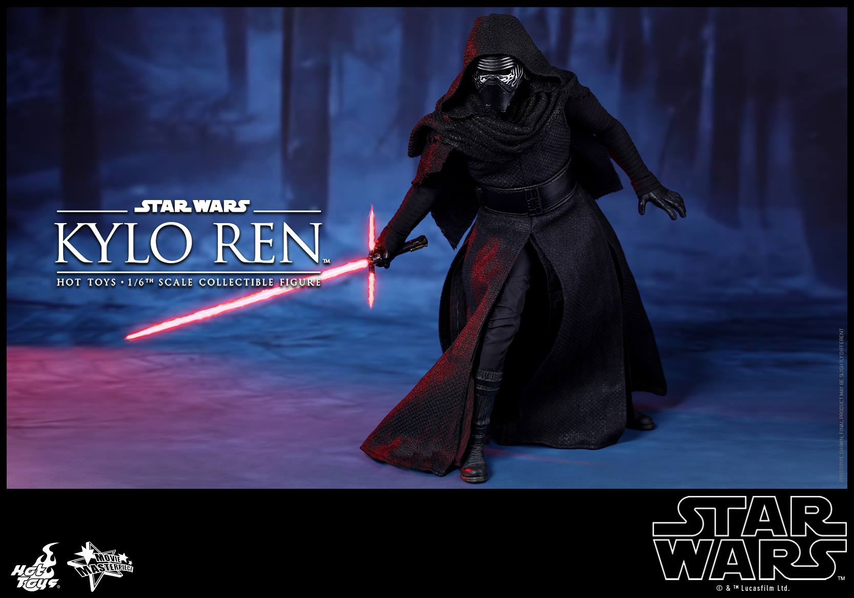 HOT TOYS - Star Wars: TFA - Kylo Ren 341905104