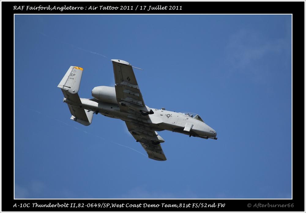 A-10C Thunderbolt II - West Coast Demo Team 342276IMG1592