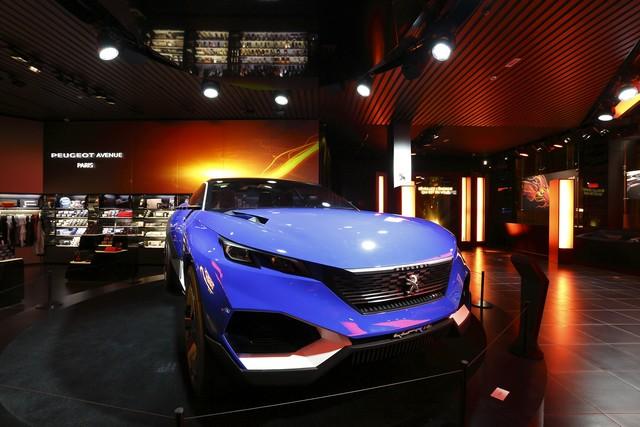 Un Dragon S'installe Au Peugeot Avenue Paris ! 342884SBY7549