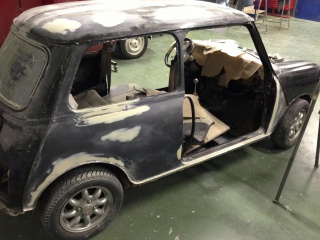 Restauration Mini Austin 1300 Injection 343951IMG3839