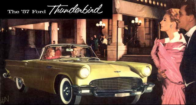 ford thunderbird 1957 au 1/16 344437brochure1957