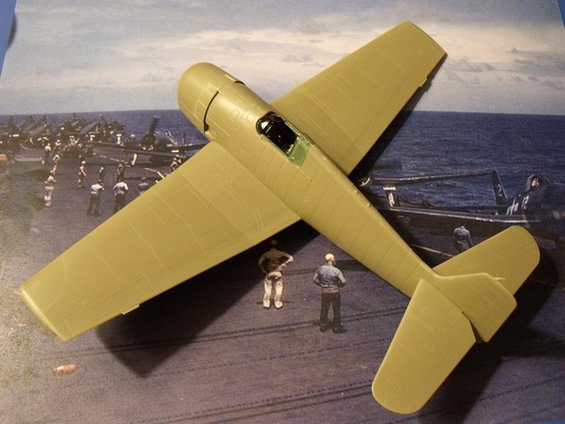 Grumman F6F-5 Hellcat - Eduard - 1/72 344726GrummanF6FHellcat017