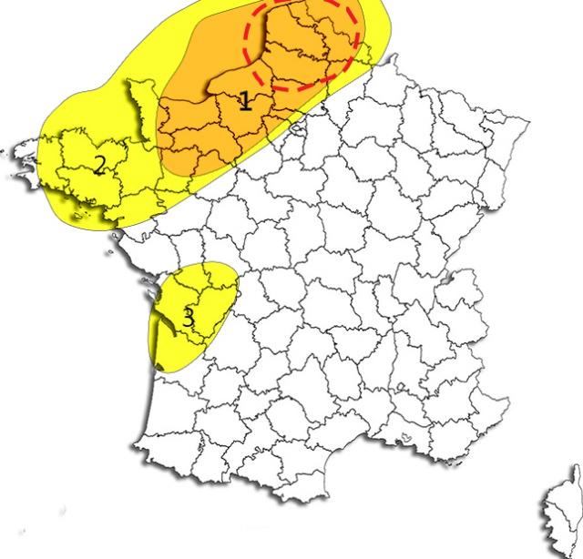 Analyses et prévisions des épisodes météo potentiellement marqués - Année 2016 346205assas