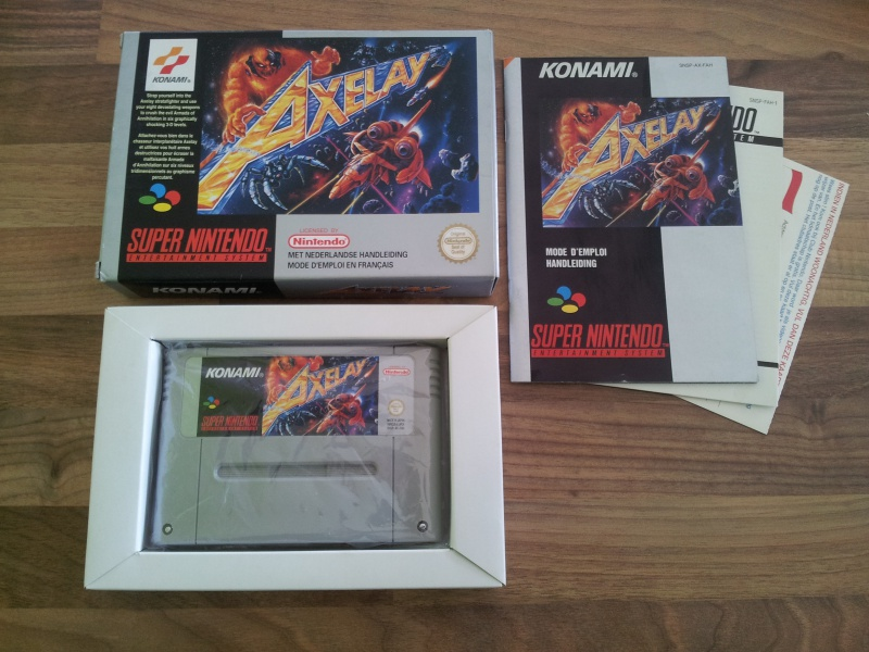 Prupru's Collection ! 100% Super Nintendo et 200% Super Comboy !! - Page 12 347695Axelay
