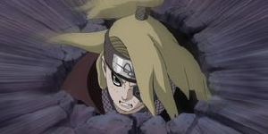 Payback time for terrorists (Naruto + Temari + Kakashi + Rigaru vs Sasori) 347887663