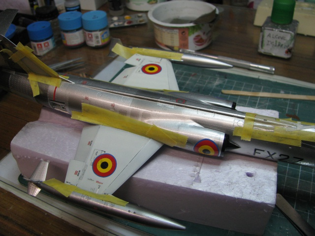 DUO: F-104N (NASA) + F-104G (BAF) Hazegawa 1/48  - Page 2 348322IMG7179
