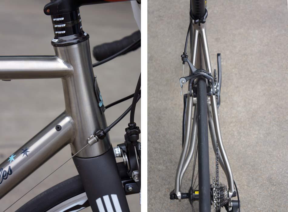 sage cycles  349165SageCyclesskylinetitaniumroadbike03