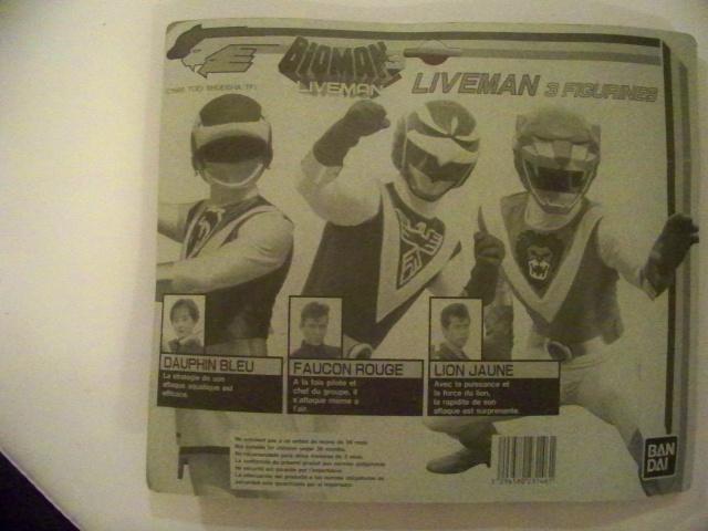 """Liveman (""""Bioman 3"""" en France) - Page 4 3491861010879"""