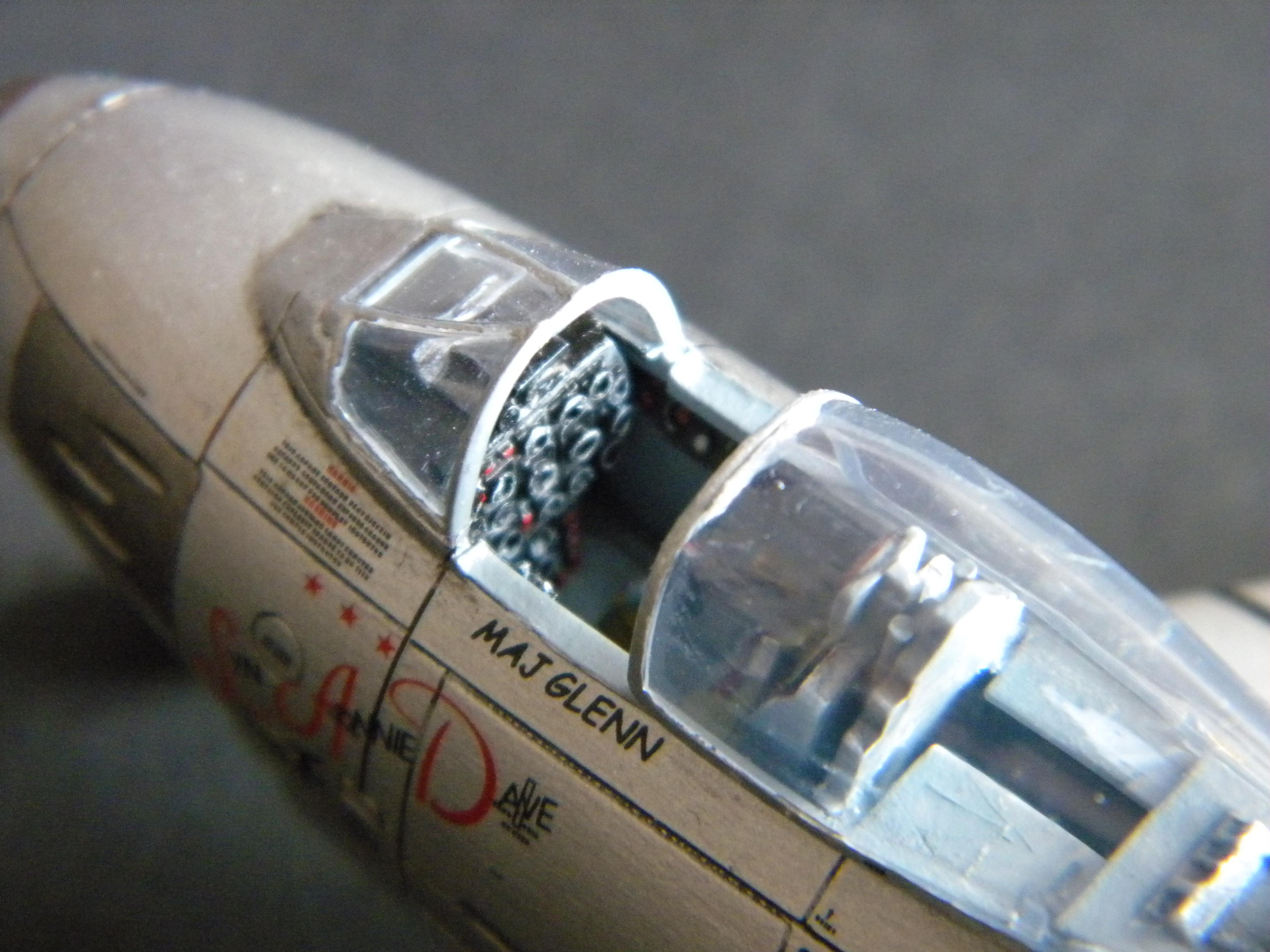 "[Airfix] F-86F Maj. John Glenn ""Mig Mad Marine"" 349520DSCN9690"