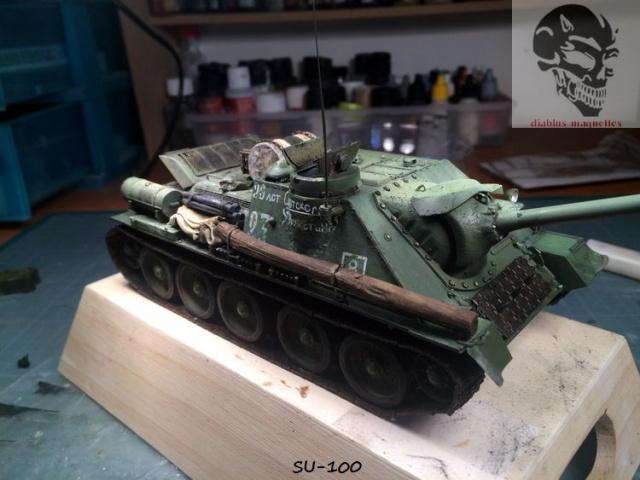 SU-100 marque Dragon 1/35 - Page 2 349646IMG3911