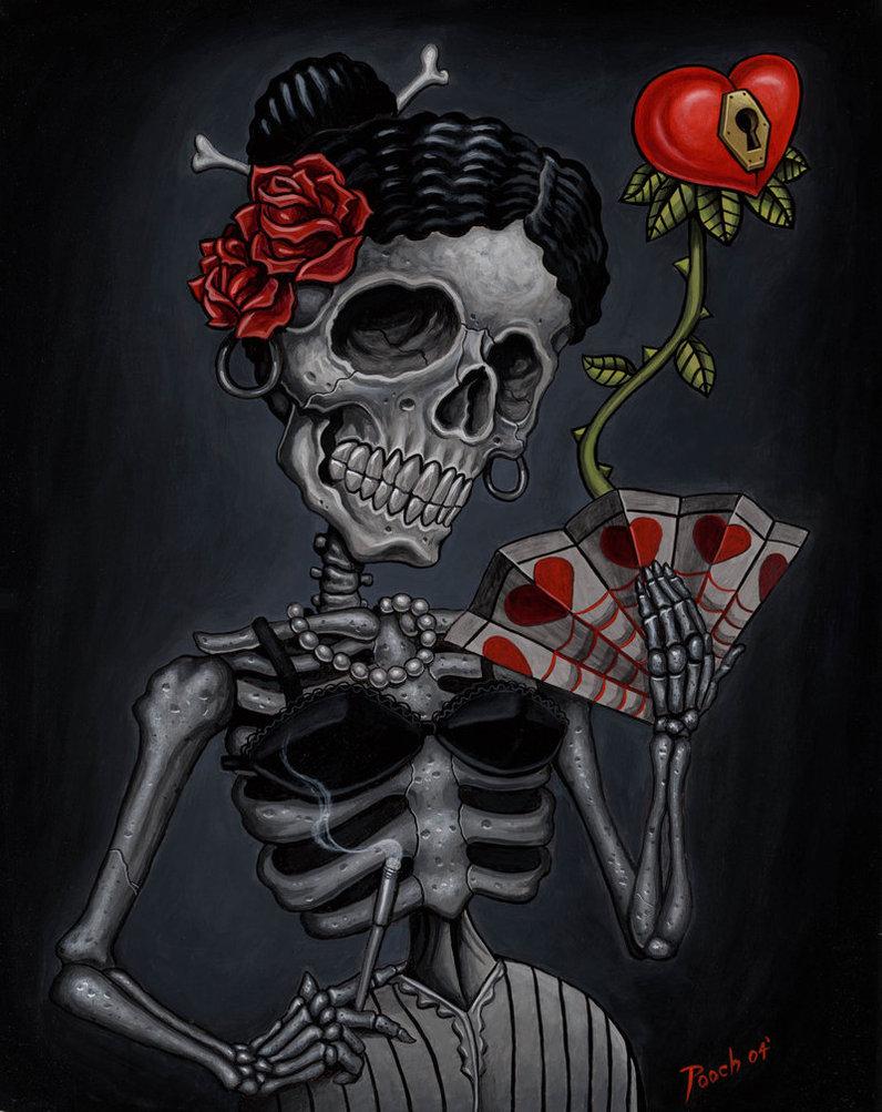 DESSINS - Skulls... 350560SenoritaLockheartbytat2pooch