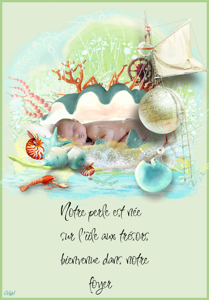 """""""Perle"""" faire-part 3512021329"""