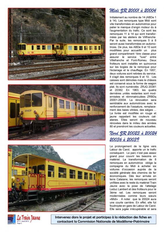 Plan et fiche documentaire remorque train jaune 351452tj11Page2