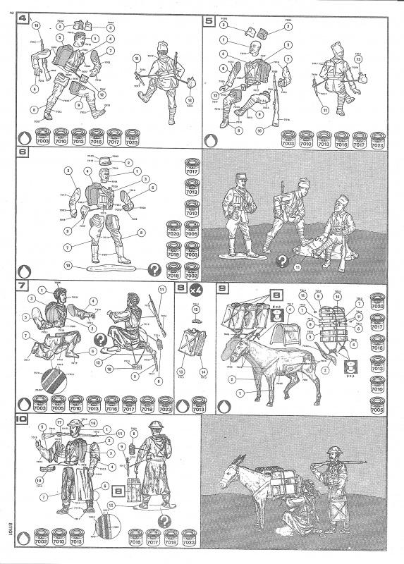 [ Heller ] Diorama Koufra 1/35 351653Heller81101003DioramaKoufra135