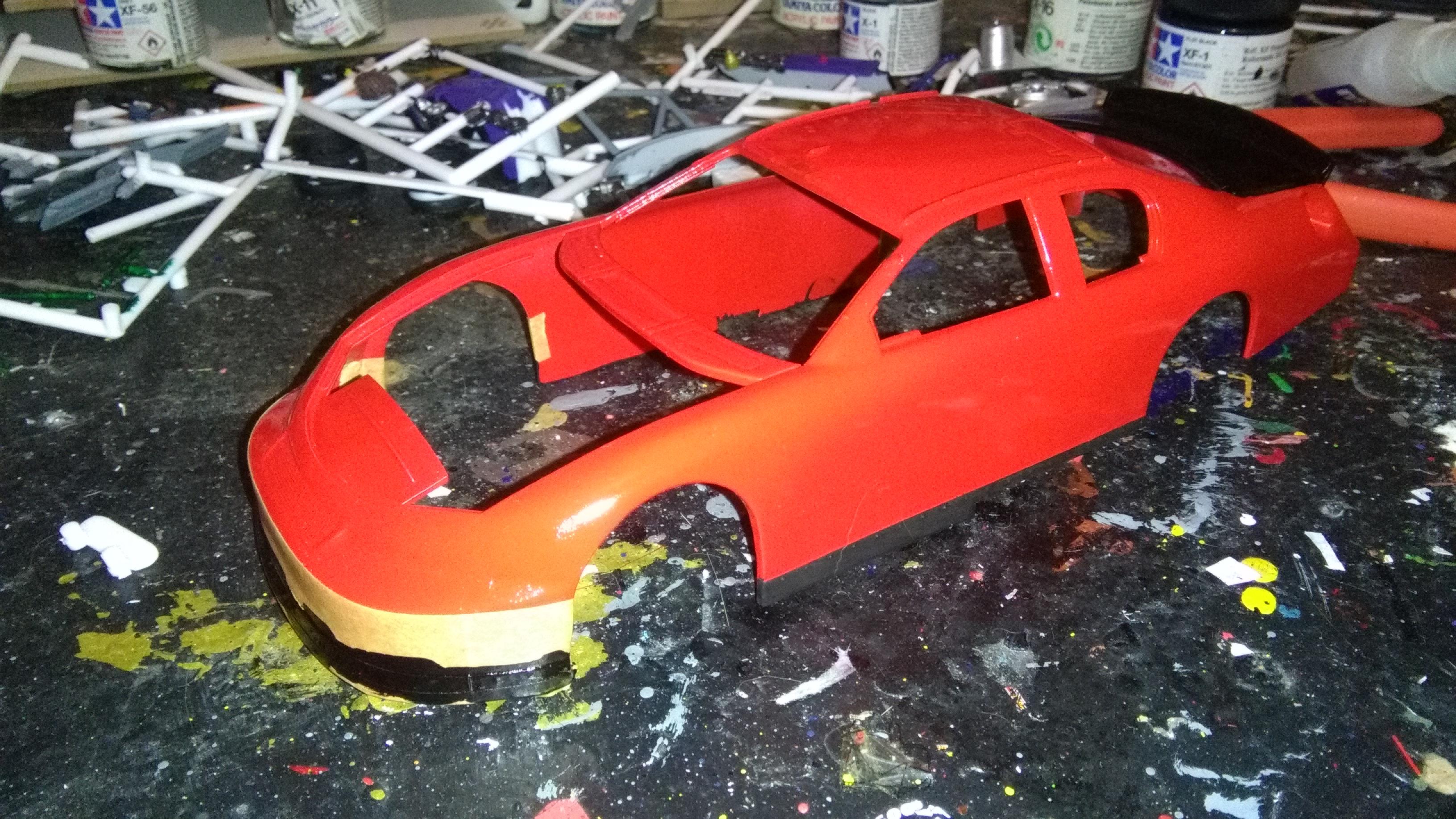 Chevy Impala 2006 #31 Jeff Burton Cingular 355885IMG20170416213707