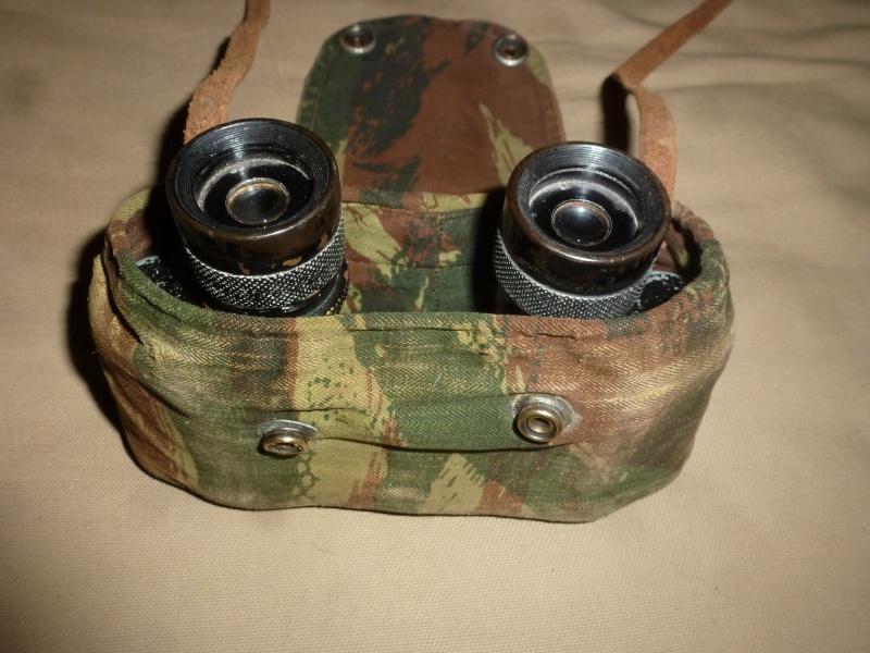 Jumelles et couvre-jumelles camouflage lézard 356241P1070134