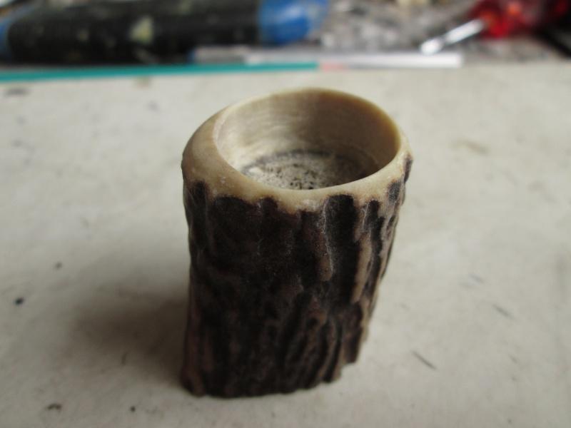 Création blaireau bois de cerf 356410IMG5297