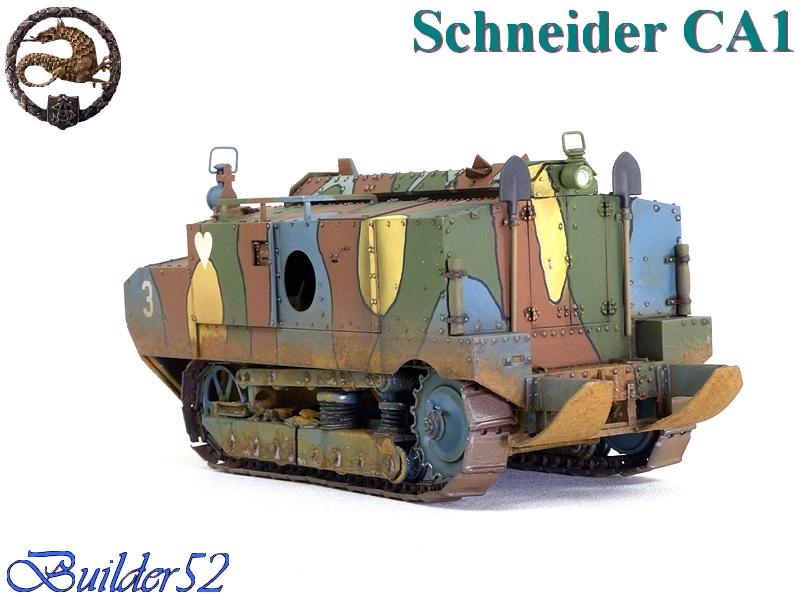 CHAR SCHNEIDER CA 1 - HOBBY BOSS 1/35 357914P1040963