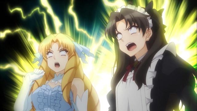 [2.0] Caméos et clins d'oeil dans les anime et mangas!  - Page 9 358035HorribleSubsFateKaleidLinerPRISMAILYA2weiHerz061080pmkvsnapshot084620150903205103
