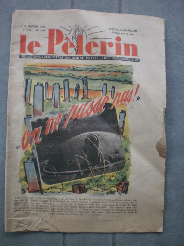 """Brochure Le Pèlerin 1940 Ligne Maginot """"On ne passe pas"""" (DERNIERE BAISSE DU PRIX) - ESC 1 Vendue 358484P2061533"""
