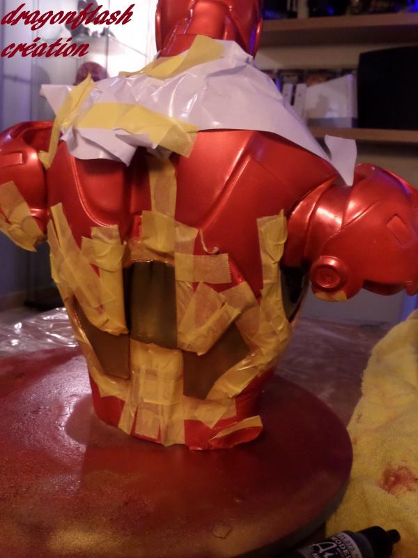 dragonflash création : buste iron man 1/2  (+-40 cm de haut) le final 3591437422