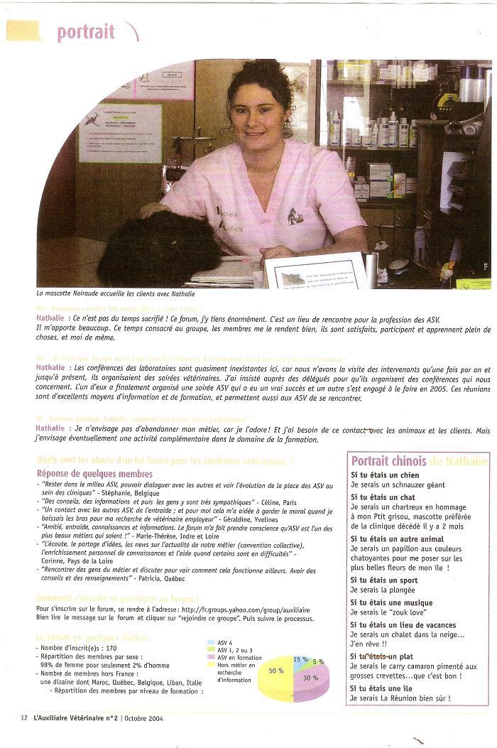Présentation de Dorienne ASV - Fondatrice du forum - Page 4 360697article7