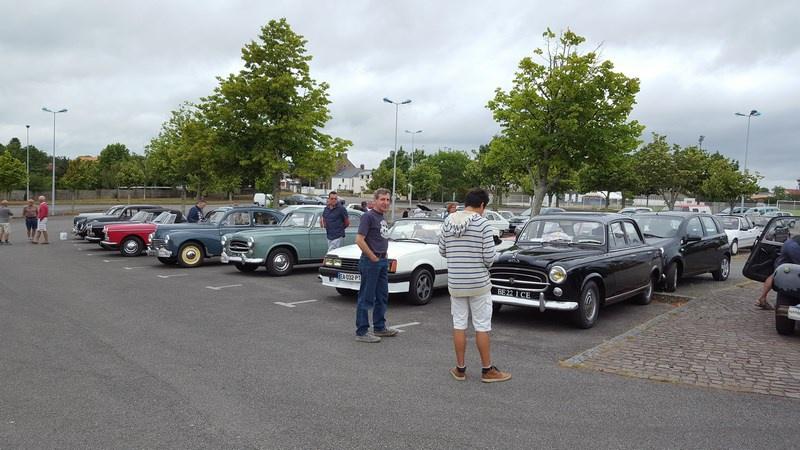 25 Juin - 30ème Rallye de l'Amicale Rétro Peugeot Atlantique 36100420170625Rallyeannuel003