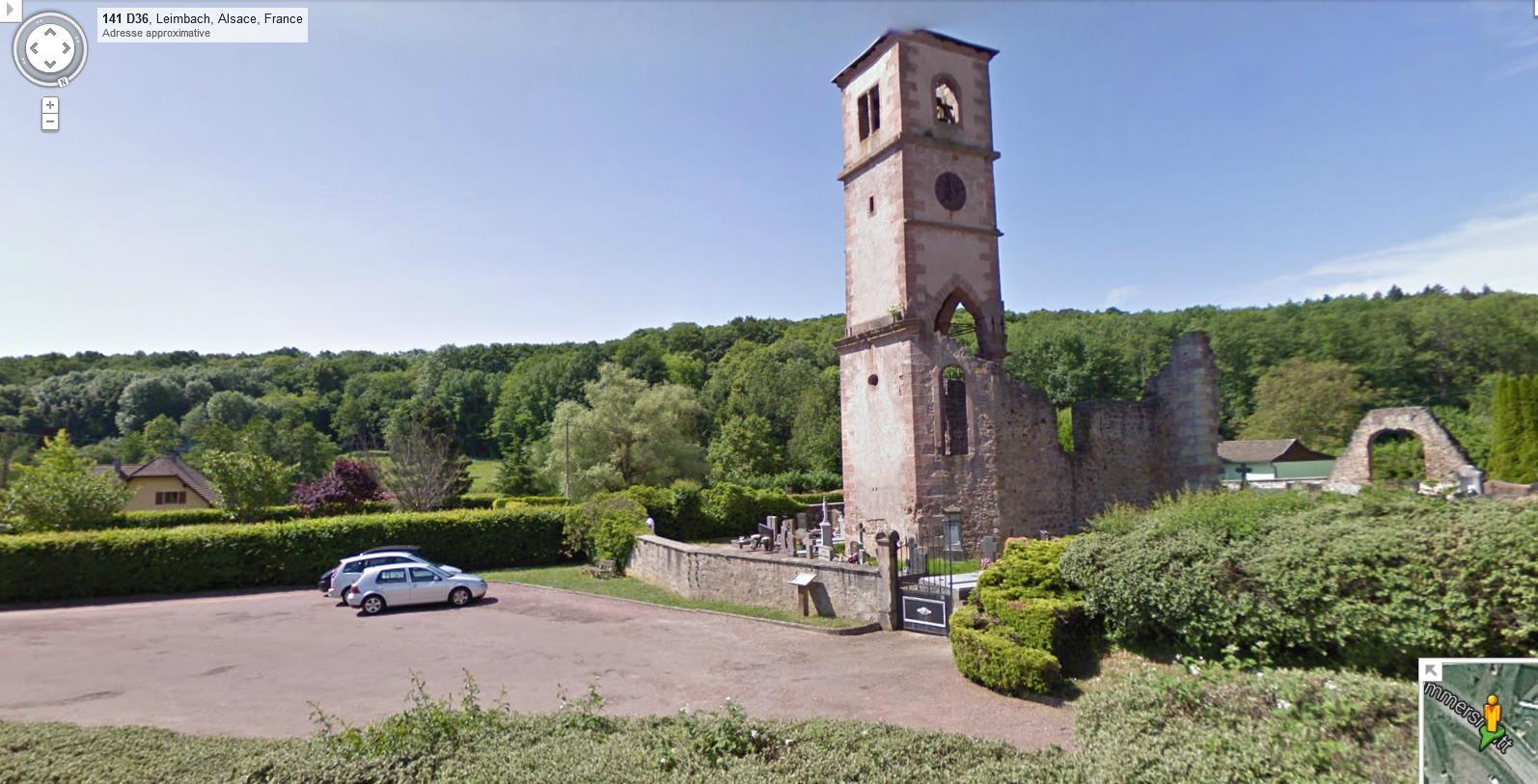 Ruines d'édifices religieux - Page 7 361817LeimbachStBlaise