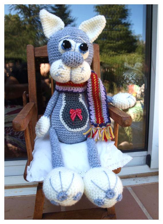 Mon Chat  au crochet ♥♥♥ 363211P8189605