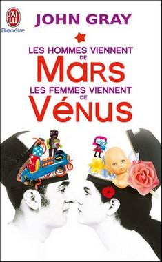 LES HOMMES VIENNENT DE MARS LES FEMMES VIENNENT DE VENUS de John Gray 363347JGray