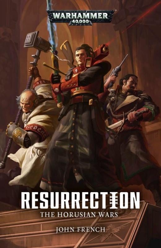 The Horusian Wars: Resurrection de John French 363720BLPROCESSEDHorusianWarsResurrectioncover