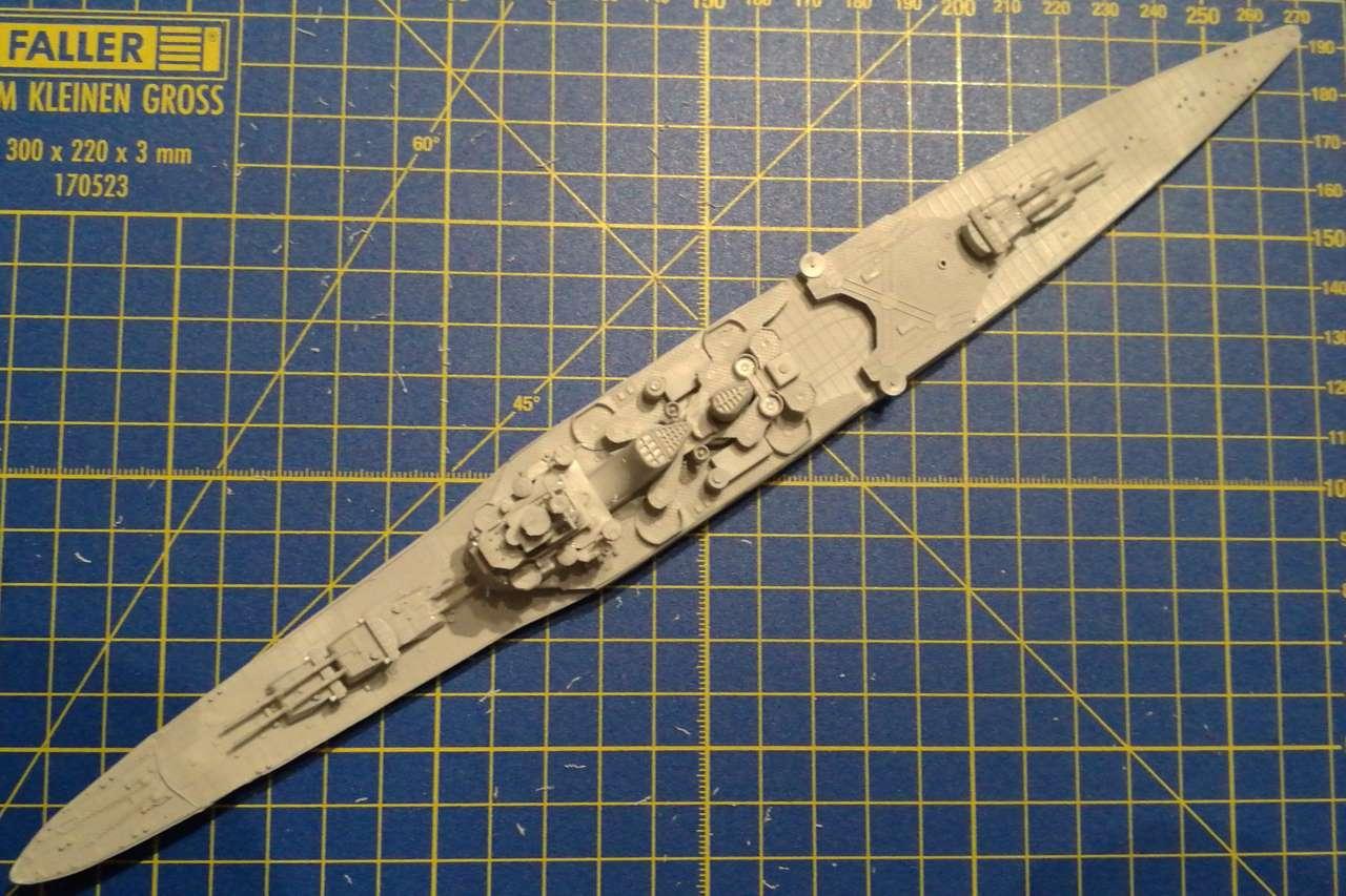 Croiseur TAKAO 1944 1/700 Pit-Road 365261Takao17