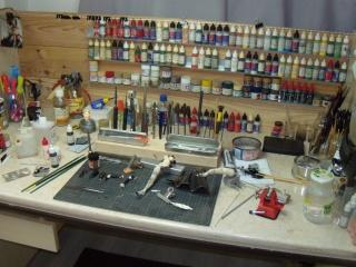 Bureau fini = maquettes figurine avions a donf  yesssssssssssss 365654DSCN1805