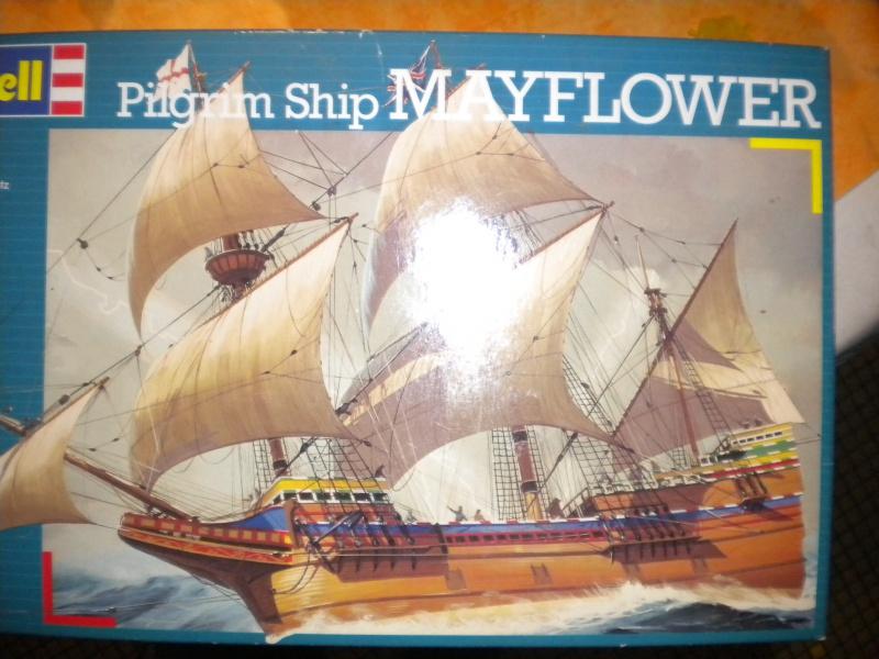 le Mayflower de Revell au 1:83  365703DSCN4806