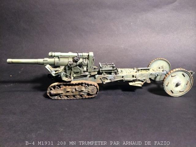un B-4 M1931 203 mn (le marteau de Staline trumpeter 1/35 367866B41001